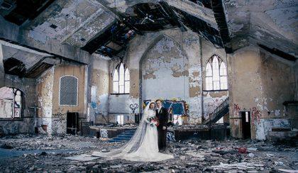 Borsi Flóra most Detroit múltját és jelenét ötvözte egy képre