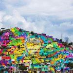 Street art művészek rehabilitáltak egy városrészt