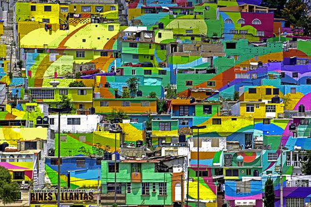 20.000 négyzetméter falfelületet festettek újra