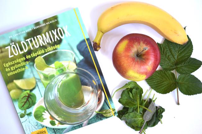 Az banán-alma-parajlevél hármas remek alapja a zöldturmixoknak, amit tovább lehet ízesíteni, fűszerezni./Fotó: Myreille