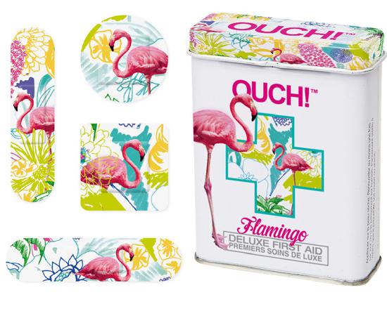 Majd jönnek a rózsaszín flamingók, amiket akkor is magamra ragasztanék, ha éppen nem vágtam el az ujjamat.