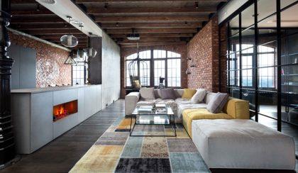 A tér időtlen luxusa: szenzációs kijevi loft