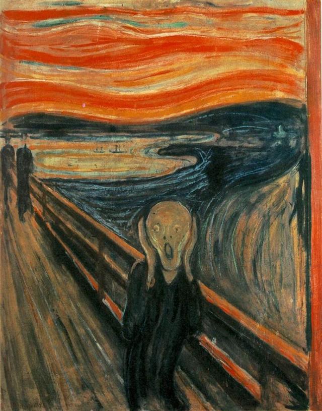 Edvard Munch: A sikoly (Skrik) - 1893