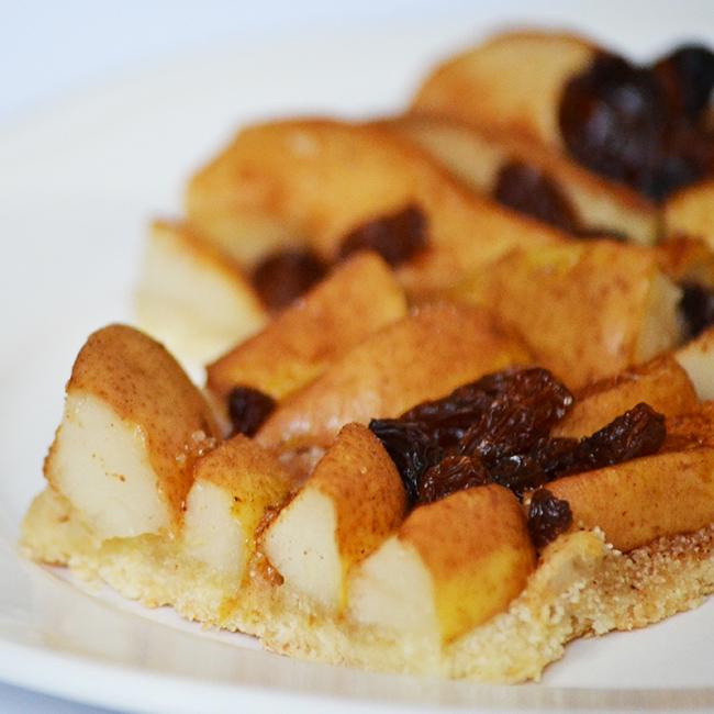 Francia finomság egyszerűen: körtés galette
