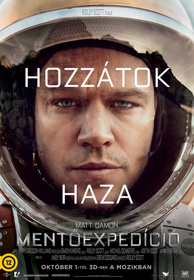 Ha ezerszer leírom, hogy Mentőexpedíció, nekem ez a film akkor is A marsi.