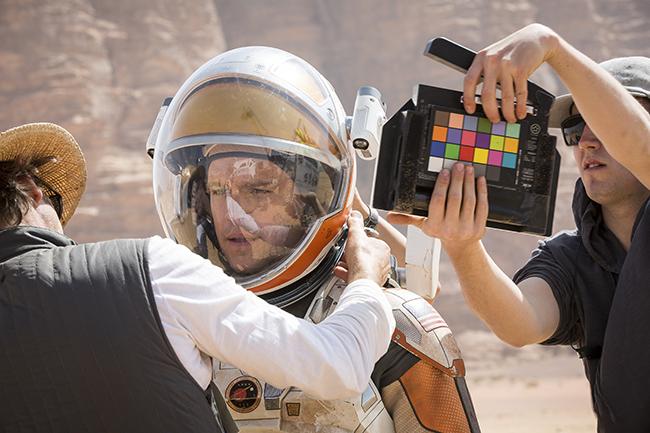 Werk fotó a forgatásról - Mentőexpedíció (The Martian)