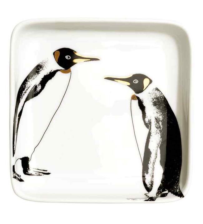 Szintén tányér, szintén H&M, de pingvinekkel. A fiaim megvesznének érte...