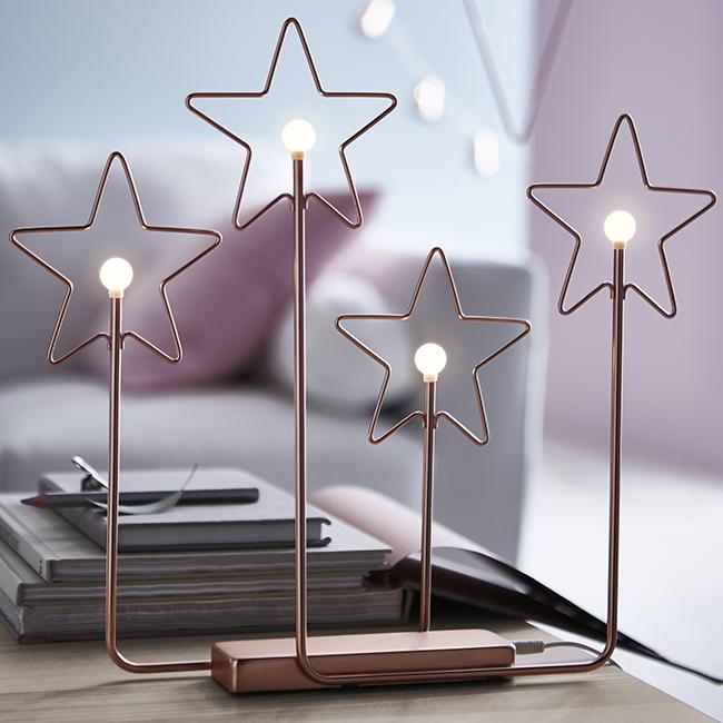 Idén karácsonykor lámpában utazom, ez a LED-es dísz teljesen fölösleges, de jól néz ki./IKEA