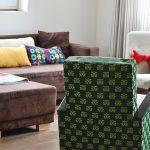 Édes otthon: a nappali és a boldogság kék párnája