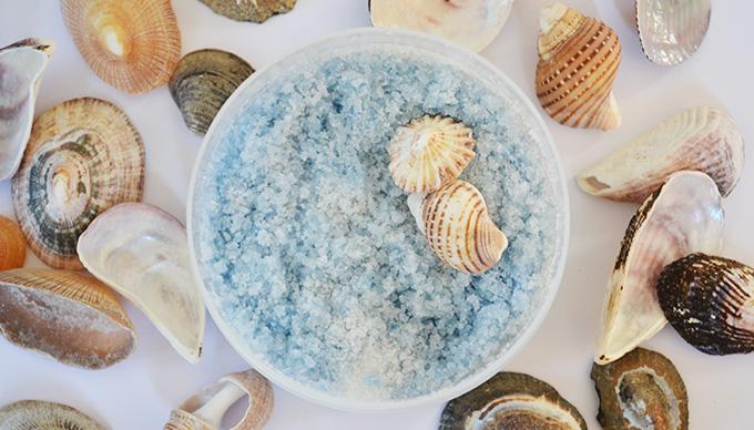 Vasárnapi tenger: házi készítésű bőrradír