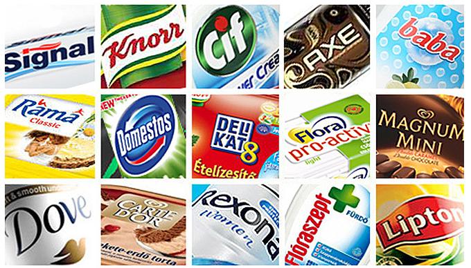 Ismert és közkedvelt Unilever márkák