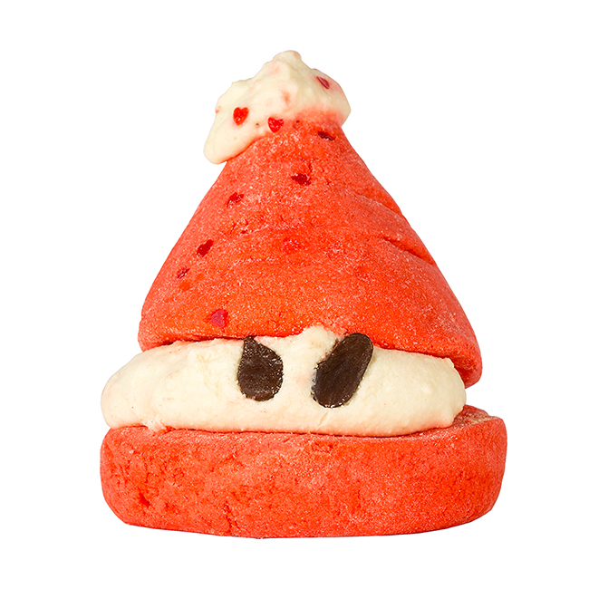Ho-ho-ho, ez a télapó eper illatú habrüdőt hoz! - PEEPING SANTA habfürdő/Lush
