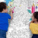 Nem csak gyerekeknek: színezhető poszterek