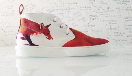 Surranó róka lábak – egy igazán különleges cipő