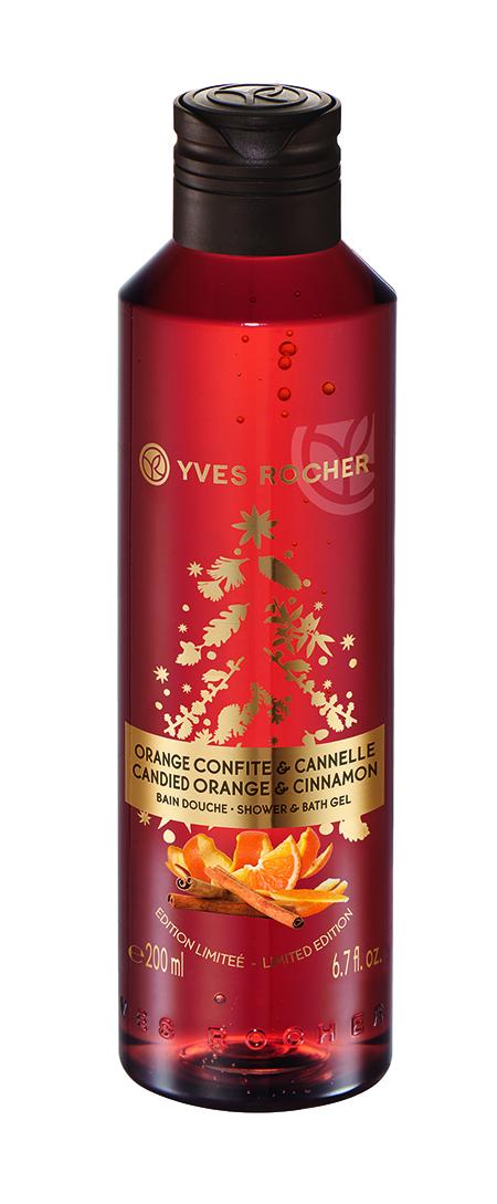 Kandírozott narancs-fahéj tusfürdő - Yves Rocher, 2015. karácsonyi kollekció