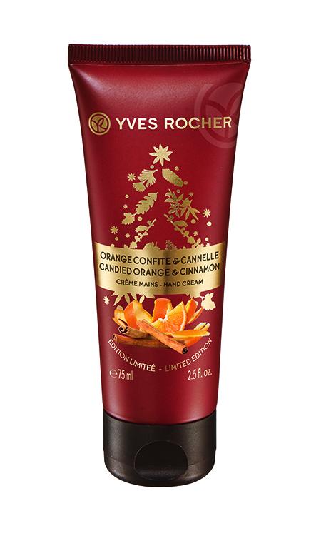 Kandírozott narancs-fahéj kézkrém - Yves Rocher, 2015. karácsonyi kollekció