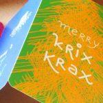 Merry Krix Krax: nagyon menő karácsonyi képeslapok
