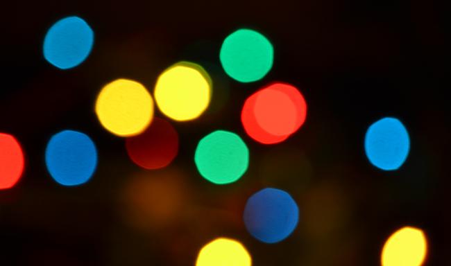 Karácsonyi fények (Fotó: Myreille)