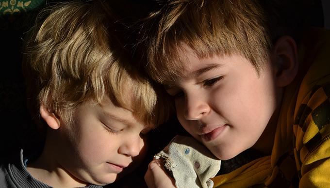 Dani és Zsombi (Fotó: Myreille)