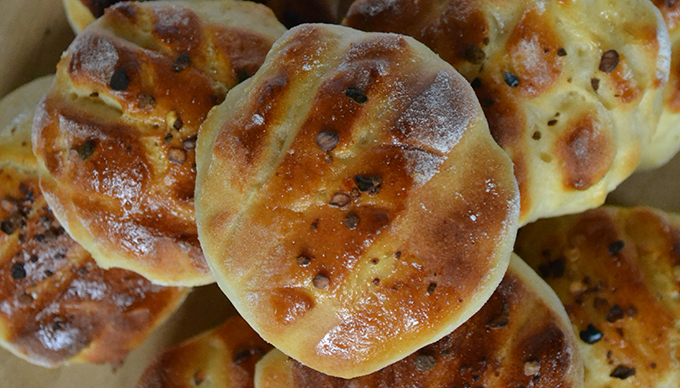 Krumplis pogácsa chilivel (Fotó: Myreille)