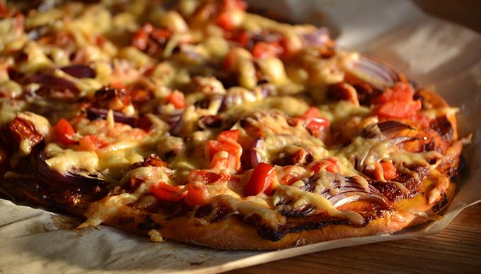 Myreille kedvenc pizzája (Fotó: Myreille)