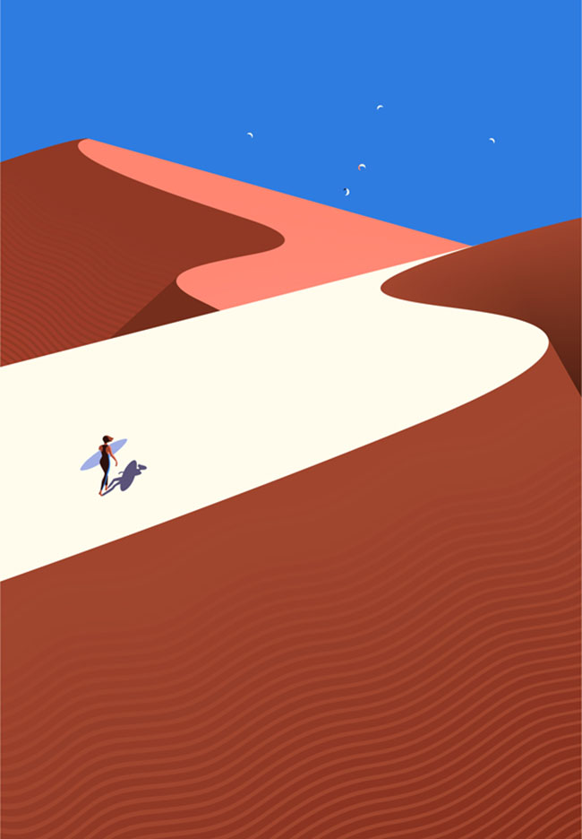 Malika Favre_Fuerteventura dune