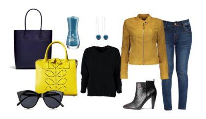 Sárga és kék – tavaszi nagytakarítás a gardróbban