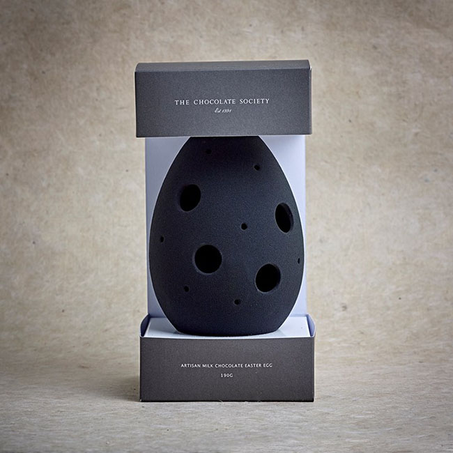 Dark Chocolate Monochrome Egg/Gyártó: The Chocolate Society