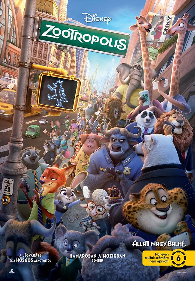 A Zootropolis – Állati nagy balhé (Zootopia) a Walt Disney Animation Studios 55. egész estés animációs filmje.