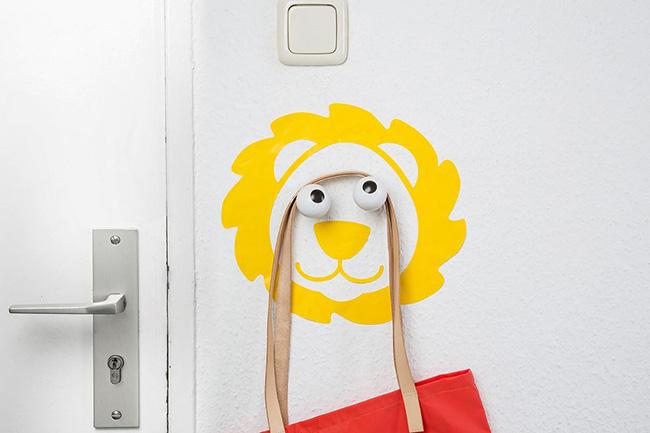Az oroszlán bármelyik gyerekszobába megállja a helyét.