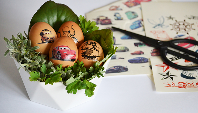 Tetovált tojások! (Ötlet és fotó: Myreille)