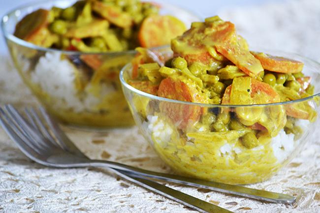 Egyszerű zöldséges curry/Fotó: Myeille
