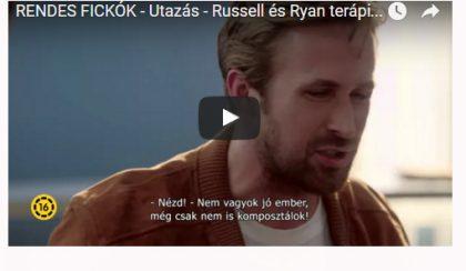 Ryan Gosling és Russell Crowe – a RENDES FICKÓK párterápiája