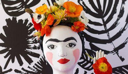 DIY ötlet: Frida Kahlo váza