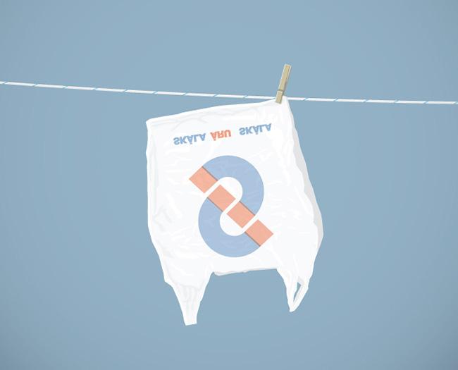Murányi Kristóf: Száradó szatyor / drying plastic bag (2013)