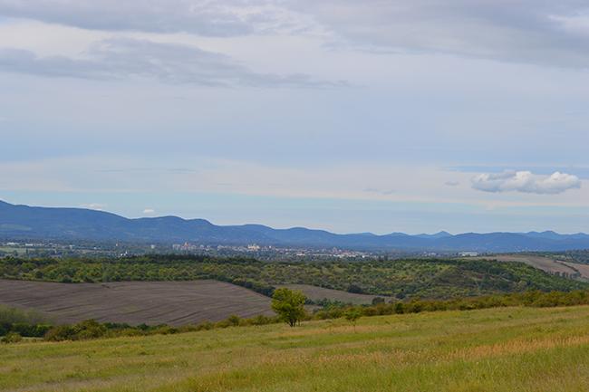 Hegyek, mezők, ősz (Fotó: Myreille)
