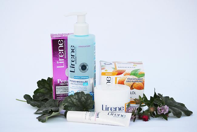 Lirene Physio-micellás arctisztító gél, Pearl Rejuvenation ránctalanító termékcsalád – szemkörnyék ápoló, Mandulaolajos bőrsimító és tápláló arckrém (minden bőrtípusra) (Fotó: Myreille)