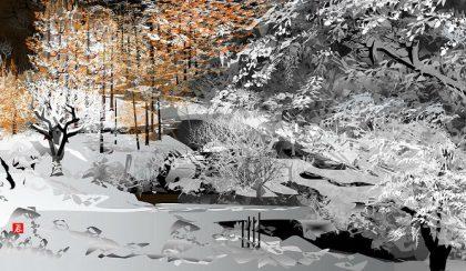 76 éves japán művész Excelben alkot tájképeket