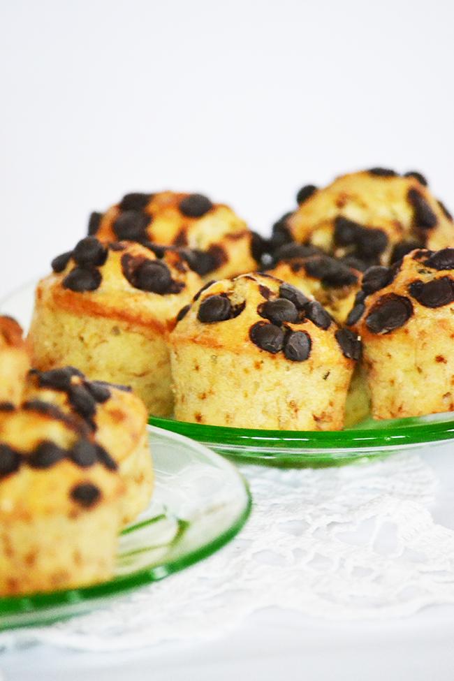 Banánkenyér muffin formában (Fotó: Myreille)