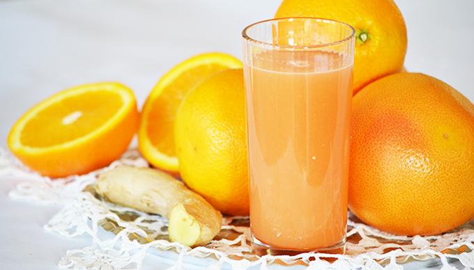 Házi grapefruit-narancs-gyömbér juice/fotó: Myreille