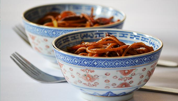 Sült tészta (Chicken Chow Mein)/Fotó: Myreille