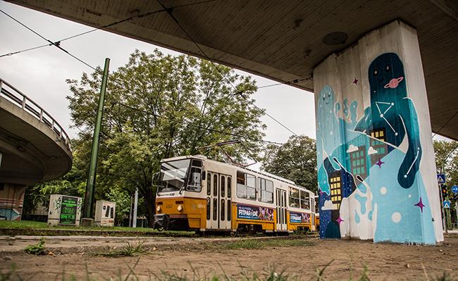 Bakos Zsuzsi - Erzsébet híd, budai oldal
