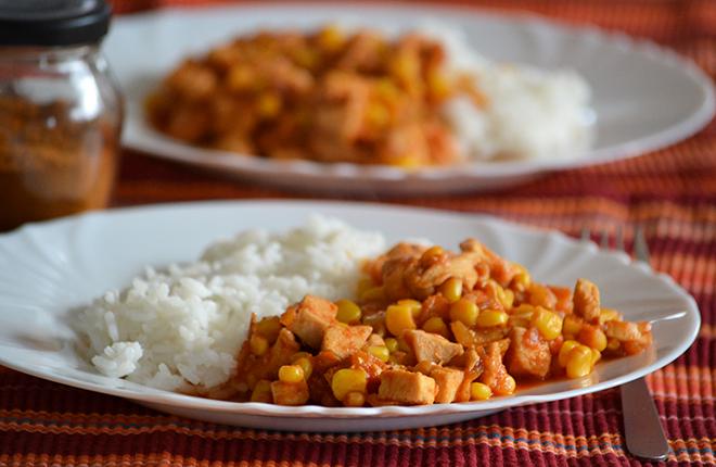 Mexikói csirke (Fotó: Myreille)