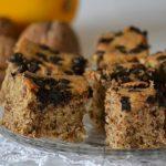 Esős szombat délután: diós-narancsos-csokis süti