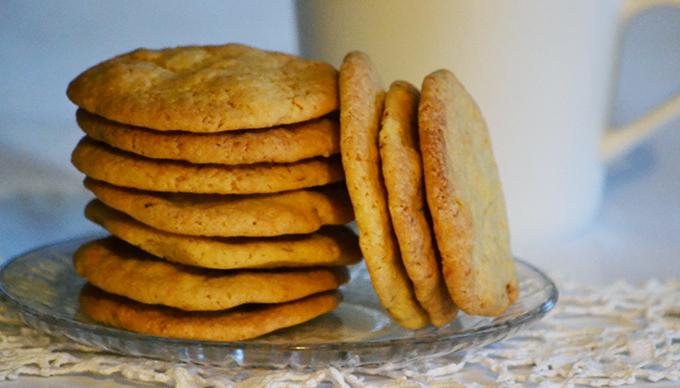 Házi mandulás keksz/Fotó: Myreille