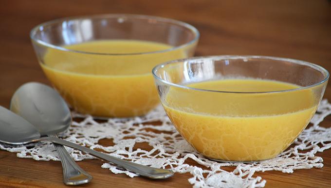 Kókusztejes-currys sárgarépakrémleves (Fotó: Myreille)