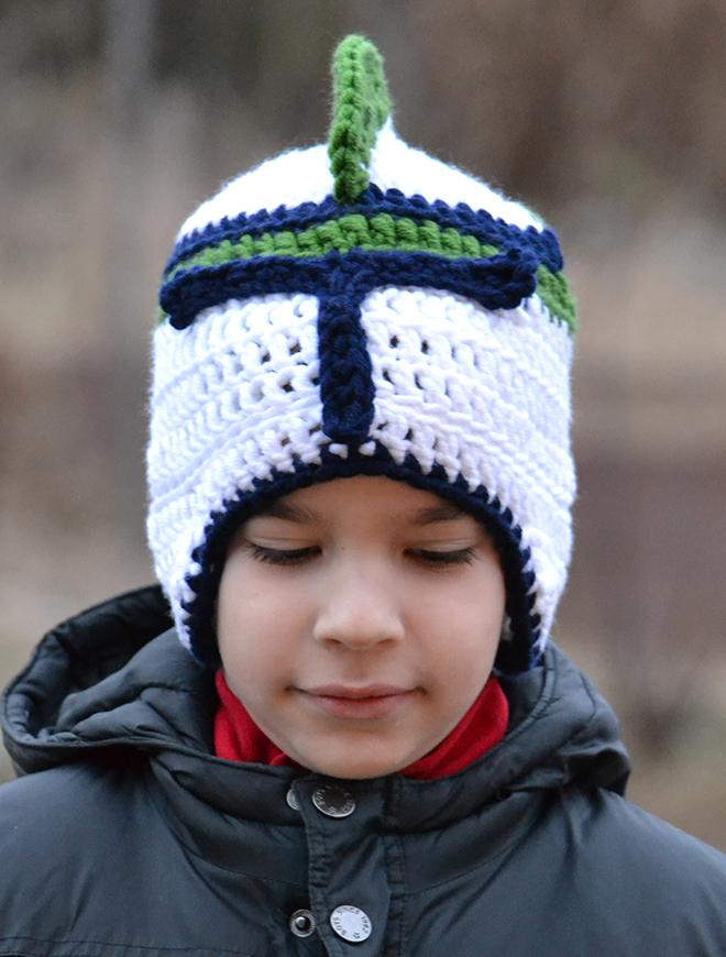 Horgolt clone helmet/Fotó: Myreille