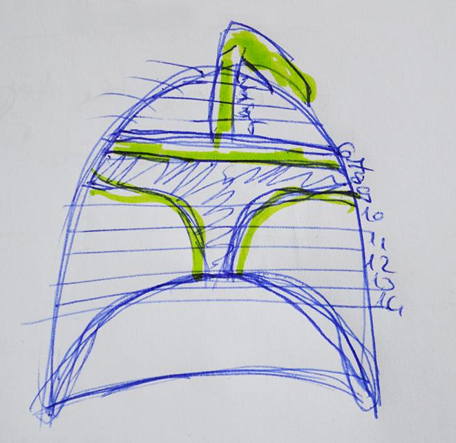 A minta a clone sisak(sapká)hoz/Fotó: Myreille