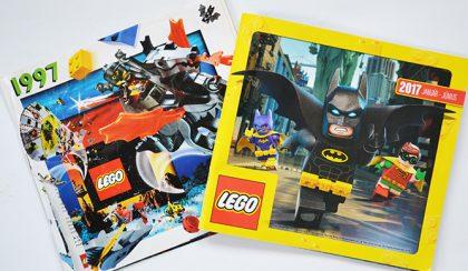 Régen és most: Lego katalógus 20 év különbséggel