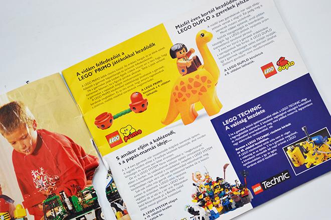 1997-ben volt Lego Primo, Lego Duplo, Lego System és Lego Technic/Fotó: Myreille